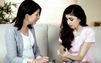 Motivos de busca de atendimento psicológico para adolescentes